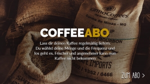 Tim und Sebastians Kaffeebohnenabo