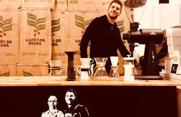 Tim und Sebastians Kaffeeröstung