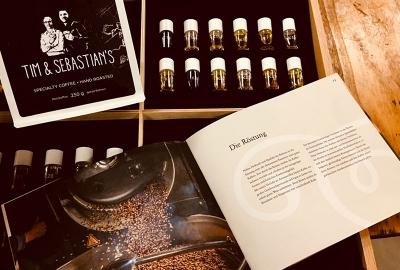 Atelier Steinbüchel Weihnachtsfeier Kaffeeröstung