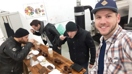 Tim and Sebastians Open Roastery