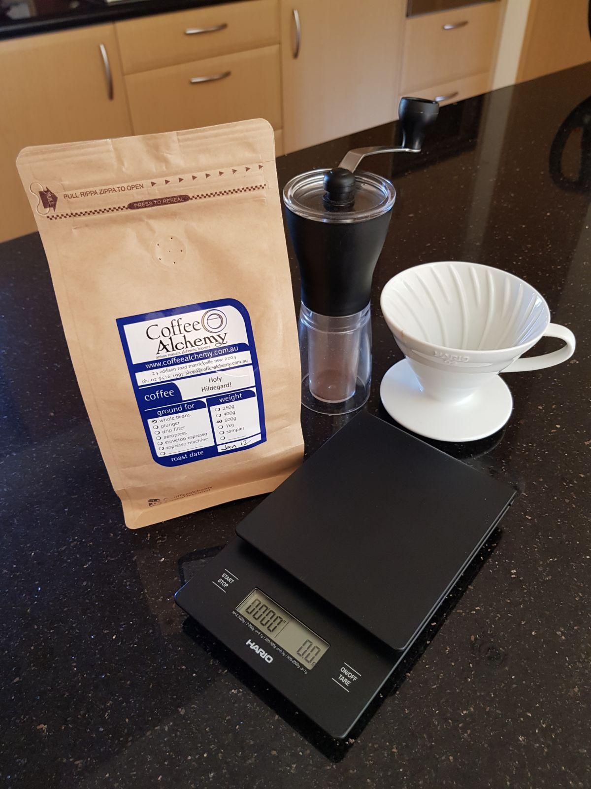 Coffee Alchemie Hario